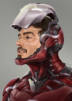 Iron Man - Robert Downey Jr. by Paolo Andrey