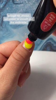 Best Acrylic Nails, Acrylic Nail Designs, Matte Eye Makeup, Polygel Nails, Nail Shop, Artificial Nails, Nail Tools, Stylish Nails, Grow Hair