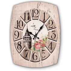 Ahşap Galata Kulesi Eskitme Dekoratif Duvar Saati Modeli, Ahşap Galata Kulesi Eskitme Dekoratif Duvar Saati Modeli Ürün Bilgisi ;Ürün maddesi : MDF Ebat