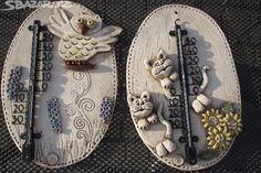 Nabízím keramické teploměry různá provedení, dělané na - obrázek číslo 2