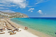 mykonos beaches - #Elia #beach