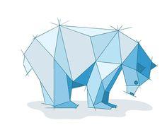 CUTCU = Curtis Cunningham — #adobedraw geometric bear