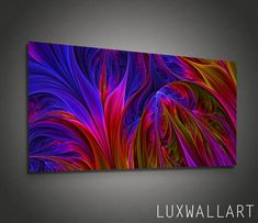 Abstract Metal Wall Art Color Depths Ready to Hang Abstract Metal Wall Art, Canvas Wall Art, Abstract Art, Metal Wall Decor, Hanging Wall Art, Art Grunge, Grand Art Mural, Color Depth, Acrylic Pouring Art