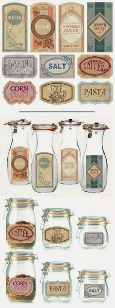 DIY Label Projects and Free Printables