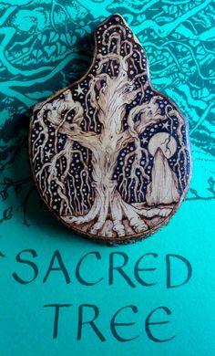Sacred Tree Pendant    Pyracantha        G.M.R 2015