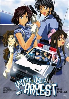 This is one of my favorite anime. It's about the adventures of the members of a fictitious police station in Tokyo.