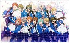 I Don't want them to graduate 😭😭😭 No Sora, Anime Group, Comedy Anime, Night Aesthetic, Boy Character, Ensemble Stars, Star Art, Manga, My King