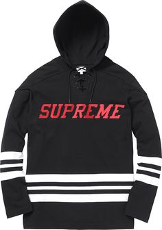 Supreme 2015 Spring/Summer Knits, Button-Down & Jersey Collection: As part of the onslaught of 2015 spring/summer goods, here we get a look at Supreme's knits, Hockey Hoodie, Dope Shirt, Summer Knitting, Tomboy Fashion, Men's Fashion, Black N White, Hoodies, Sweatshirts, Supreme