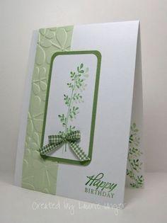 lovely handmade card ... white