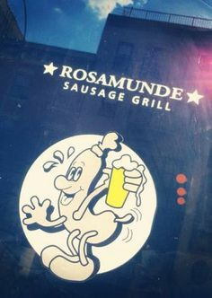 Craft Beer and savoury sausages. That'll do, won't it? We heart you Rosamunde in New York.