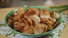 Homemade Potato Chips Recipe | Southern Recipes and Comfort Food Ideas | GAC