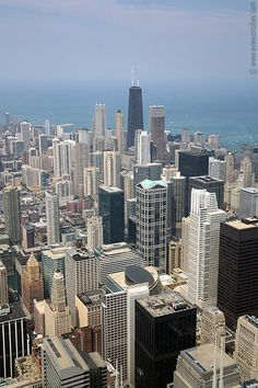 chicago; view from sears tower.