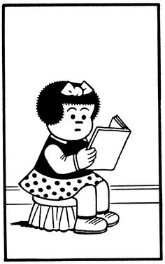 Who remembers Nancy in the funny papers and comic books?