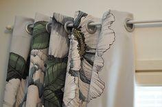 Vaateviidakko: Pimennysverhoja ja huopahelmiä Handmade Decorations, Reuse, Diy Furniture, Recycling, Interiors, Curtains, Shower, Prints, Home Decor