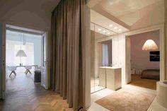 Современный дизайн исторической квартиры в Вене