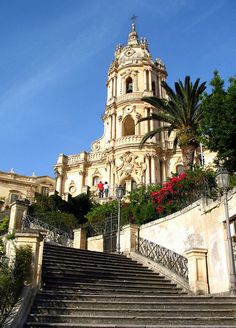 Modica, Sicily, Italy - Duomo di San Giorgio