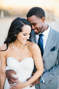 bride and groom from Southern California Elopement
