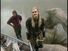 behind the scenes - Orlando Bloom/Legolas - LoTR Legolas And Thranduil, Aragorn, Tauriel, Fellowship Of The Ring, Lord Of The Rings, Orlando Bloom Legolas, Lotr Cast, Jrr Tolkien, Middle Earth