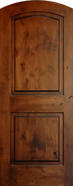 Craftsman interior doors 1 3 4 thick knotty alder 3 panel horizontal honey stain new house - Stain inside of cabinets ...