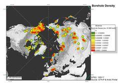 Boreholes density Arctic small