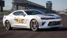 The 2017 Chevrolet Camaro SS 50th Anniversary Edition will pace the 100th running of the Indy 500 in May. The celebratory muscle car will be piloted by none other than 50-year team owner Roger ...