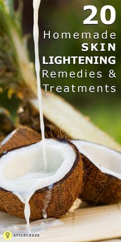 We have come up with 20 amazing homemade skin lightening remedies that can give you the skin you wanted and also save your money. But, before we get into that, let us know the popular ingredients found in skin lightening products and how they work.
