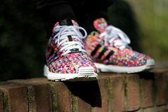 Adidas ZX Flux Multi Prisms | Multi-Coloured