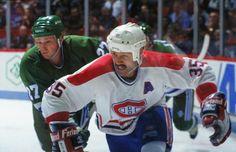 Mike McPhee : Ailier gauche costaud et fort, McPhee excellait aux deux extrémités de la patinoire et se distinguait en étant très solide le long des bandes et dans les coins. Il arborait une épaisse moustache qui était sa marque de commerce. Choix de 6e ronde, le 124e joueur au total, au repêchage amateur de 1980, il a passé deux saisons dans la LAH avec les Voyageurs de la Nouvelle-Écosse, jouant 14 parties à Montréal en 1983-1984, avant de faire le saut avec le grand club l'année suivante.