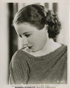 Portraits of Barbara Stanwyck.