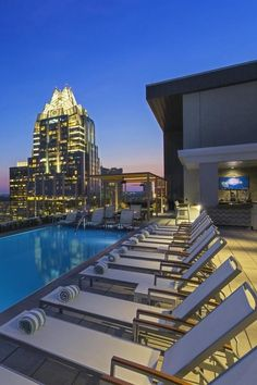 A rooftop pool with a view. The Westin Austin Downtown (Austin, Texas) - Jetsetter