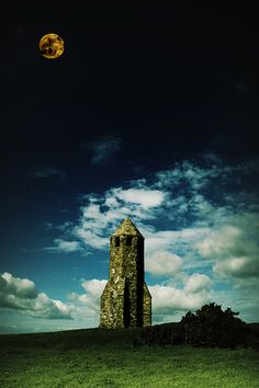 Moonlight - St Catherine's Lighthouse - Isle Of Wight, British Isles