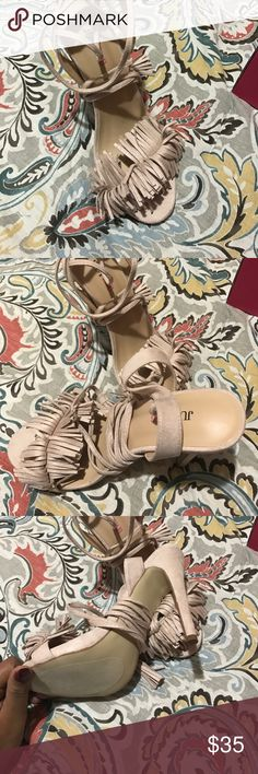 Shoes Never worn .. brand new JustFab Shoes Heels