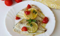 Orata al forno limone e pomodorini