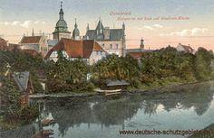 Osnabrück im Königreich Preußen, Dom von der Hase aus