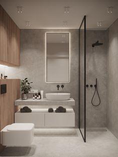 Bathroom Design Luxury, Bathroom Layout, Modern Bathroom Design, Home Interior Design, Bathroom Ideas, Bathroom Organization, Minimal Bathroom, Bathroom Storage, Bathroom Cleaning