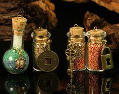 Four Bottles of Wizards' Luck by CatharsisJB.deviantart.com on @deviantART