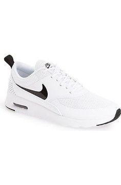 Nike Air Max Thea Womens 599409-103 White Black Running Training Shoes Size 8.5