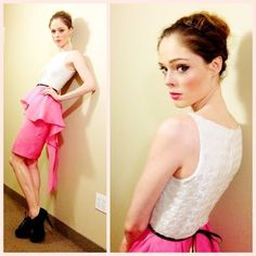 Coco Rocha & Jason Wu Peplum Dress.