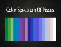 color spectrum for zodiac signs - Google Search