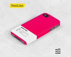 3D #iPhone 5 #Case Bright Pink #Plain Solid Color iPhone by #caselike, $22.00