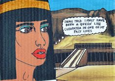 Comic painting inspired by old Egypt & writing inspired by real story when my grandma told me I was some Egyptian queen in my past life 😂👑… My Past Life, Egyptian Queen, Old Egypt, Tell Me, Thats Not My, Writing, Inspired, Comics, Memes