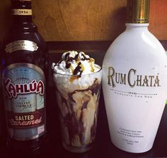 2 cups rumchata, 1 cup Kahlua, 1 cup of milk and chocolate Carmel drizzle: Best . - 2 cups rumchata, 1 cup Kahlua, 1 cup of milk and chocolate Carmel drizzle: Best hot chocolate ever - Rumchata Drinks, Rumchata Recipes, Liquor Drinks, Cocktail Drinks, Coffee Drinks, Beverage, Christmas Drinks, Holiday Drinks, Winter Drinks