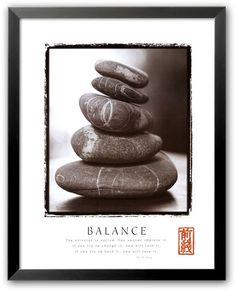 "Art com ""Balance: Rocks"" Framed Art Print Framed Art Prints, Framed Artwork, Fine Art Prints, Poster Prints, Cool Posters, Quote Posters, Balanced Rock, Rock Quotes, Balance Art"