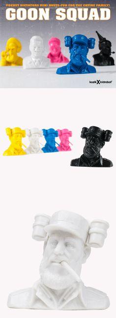 Frank Kozik's Goon Squad blind box serires - still available @ yukifish.com