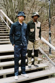 Dickies Life Wraps up in Velvet, Sherpa & Patchwork Co-Ords for Releasing an extensive outwear collection and a new selection of collegiate-inspired pieces. Eastpak Bags, Military Fashion, Mens Fashion, R13 Denim, Adventure Outfit, Co Ord, Work Pants, Work Wear, Camo