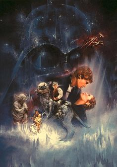 STAR WARS :The Empire Strikes Back - by Drew Struzan