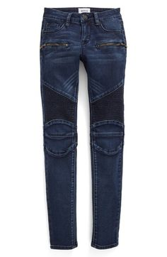 Hudson Kids 'London Moto' Skinny Jeans (Big Girls) available at #Nordstrom
