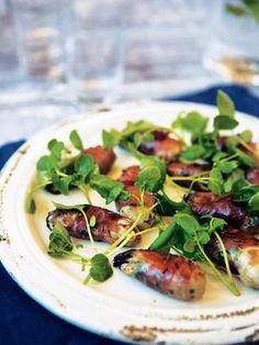 【ELLE a table】牡蠣の生ハム巻きとクレソンのサラダレシピ|エル・オンライン