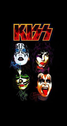 90s Rock Bands, Rock And Roll Bands, Rock N Roll, Heavy Metal Art, Band Wallpapers, Heavy Rock, Kiss Band, Hot Band, Creatures Of The Night