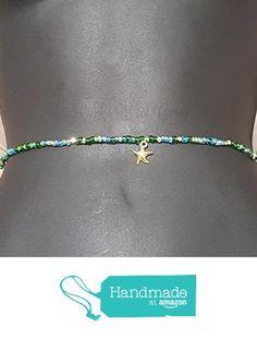 Waist Beads, Beaded Belly Chain, Seed Beads, African Waist Beads, Women's Jewelry, Body Jewelry, Minimalist Jewelry, Women's Body Jewelry, Stretch Bracelet from R&R's Wrist Candy https://www.amazon.com/dp/B01M5GLM4M/ref=hnd_sw_r_pi_dp_t4tIyb9CCGNQP #handmadeatamazon